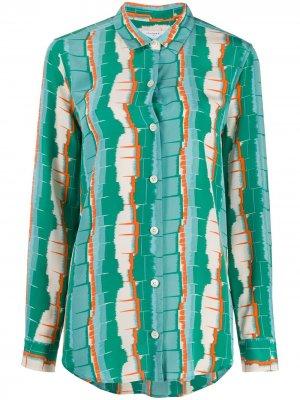 Рубашка с длинными рукавами Equipment. Цвет: зеленый