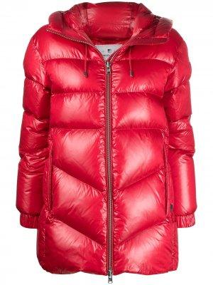 Куртка-пуховик Woolrich. Цвет: красный