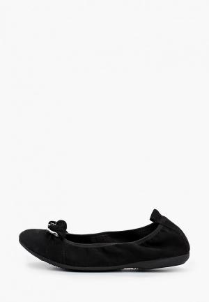Балетки Marco Tozzi. Цвет: черный