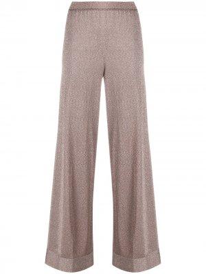 Широкие брюки с завышенной талией Missoni. Цвет: розовый