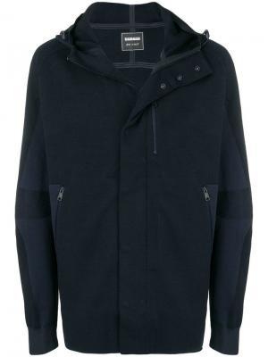 Куртка с капюшоном X Martine Rose Napapijri. Цвет: синий