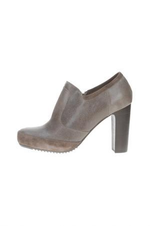 Ботинки LOGAN. Цвет: серый