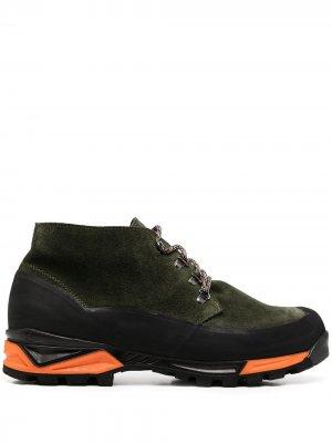 Ботинки хайкеры Asiago Diemme. Цвет: зеленый
