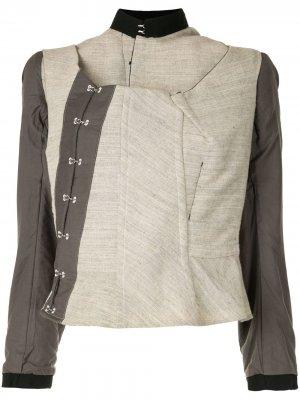 Куртка Inside Out Comme Des Garçons Pre-Owned. Цвет: коричневый
