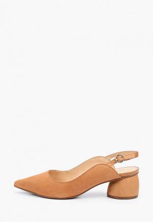 Туфли Arezzo. Цвет: коричневый