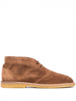Ботинки дезерты Nino Saint Laurent. Цвет: коричневый