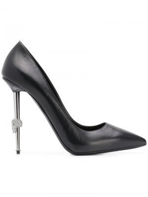 Туфли-лодочки Decolette Philipp Plein. Цвет: черный