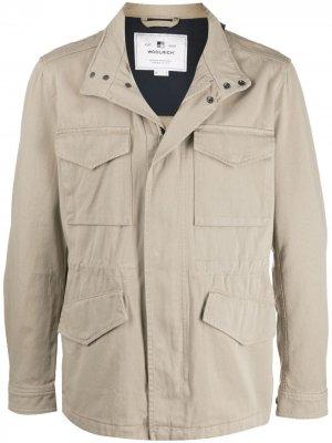 Куртка Field Woolrich. Цвет: нейтральные цвета