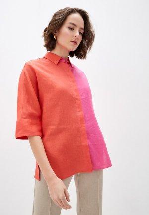 Рубашка Escada Sport. Цвет: разноцветный