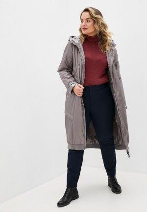 Куртка утепленная Dansanti. Цвет: бежевый