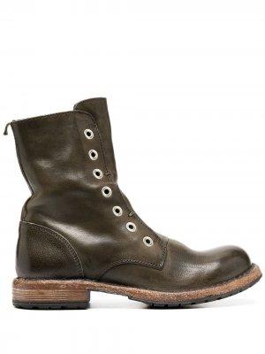 Ботинки Old Trafford Moma. Цвет: зеленый