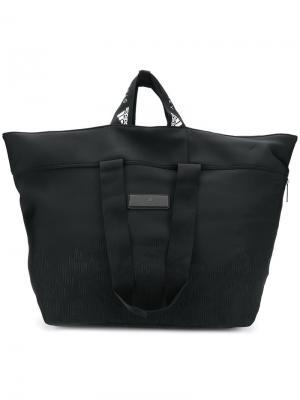 Большая спортивная сумка Adidas By Stella Mccartney. Цвет: черный