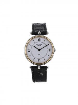 Наручные часы Pierre Arpels pre-owned 31 мм 1990-х годов Van Cleef &. Цвет: белый