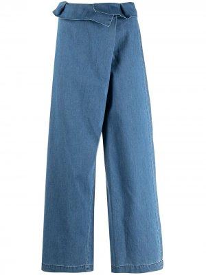 Укороченные брюки Federica Tosi. Цвет: синий