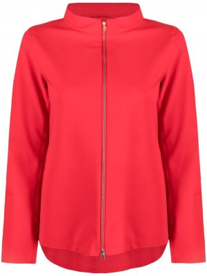 Куртка с высоким воротником Herno. Цвет: красный