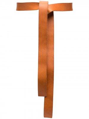 Пояс на завязках Forte. Цвет: нейтральные цвета