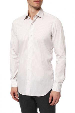 Рубашка Colletto Bianco. Цвет: бежевый