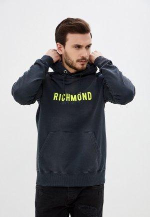 Худи John Richmond. Цвет: серый
