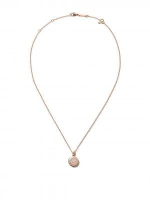 18kt rose gold Happy Diamonds Icons necklace Chopard. Цвет: розовый