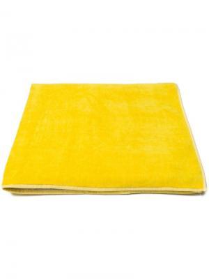Пляжное полотенце Kenzo. Цвет: желтый