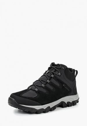 Ботинки трекинговые Columbia. Цвет: черный