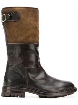 Ботинки Alix Officine Creative. Цвет: коричневый