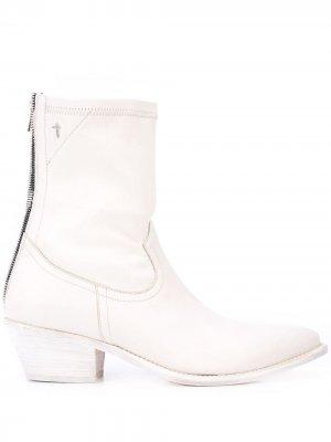 Ковбойские ботинки RtA. Цвет: белый