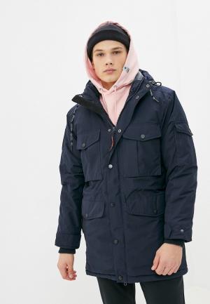 Куртка утепленная Trailhead. Цвет: синий