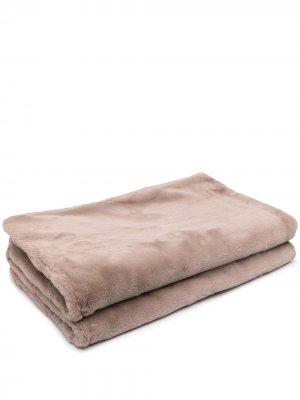 Одеяло Brady из искусственного меха Apparis. Цвет: нейтральные цвета