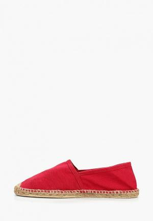 Эспадрильи Fresh Brand. Цвет: красный