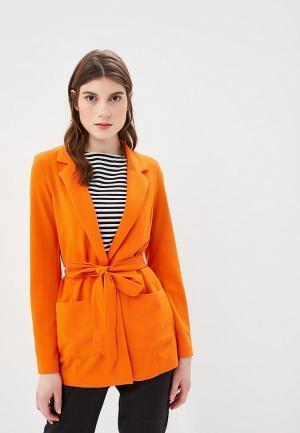 Жакет b.young. Цвет: оранжевый