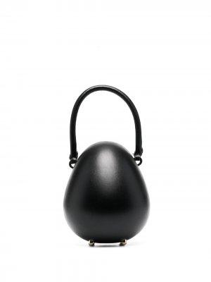 Мини-сумка Egg Simone Rocha. Цвет: черный