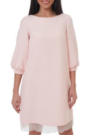 Платье Argent. Цвет: бледно-розовый