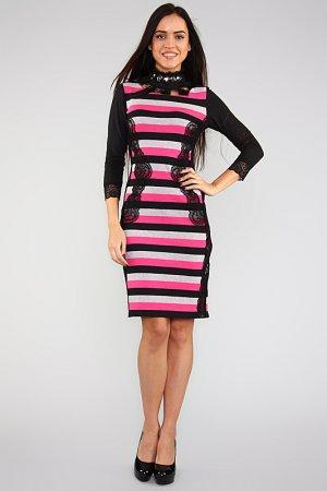Платье Lussotico. Цвет: полоска