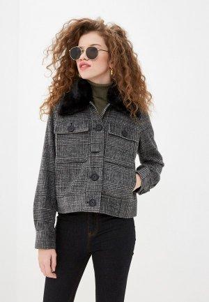 Куртка утепленная Twist & Tango. Цвет: серый