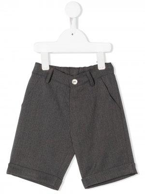 Прямые брюки чинос Mariella Ferrari. Цвет: серый