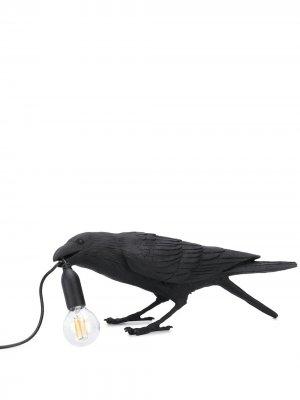 Лампа Bird Seletti. Цвет: черный