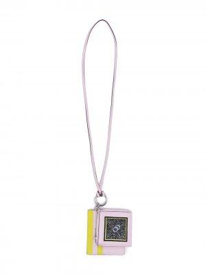 Мини-кошелек и картхолдер Diorissimo Duo Pass pre-owned Christian Dior. Цвет: розовый