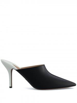 Мюли Certosa 85 с заостренным носком Paul Andrew. Цвет: черный