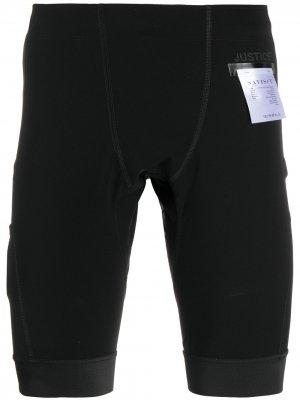 Спортивные шорты Justice Satisfy. Цвет: черный
