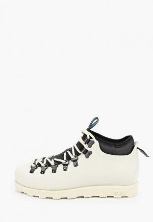 Резиновые ботинки Native. Цвет: бежевый