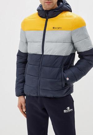 Куртка утепленная Champion. Цвет: разноцветный