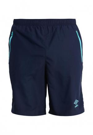 Шорты спортивные Umbro. Цвет: синий