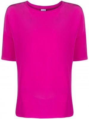 Блузка с приспущенными плечами Aspesi. Цвет: розовый