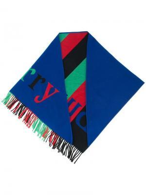 Бандана с логотипом Burberry. Цвет: разноцветный