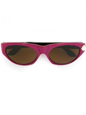 Солнцезащитные очки кошачий глаз Emanuel Ungaro Pre-Owned. Цвет: розовый