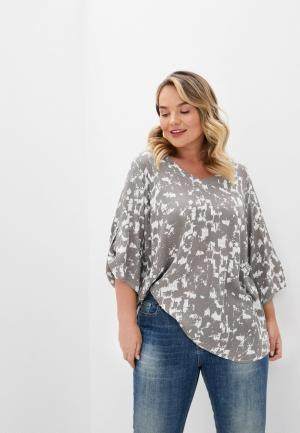 Блуза Intikoma. Цвет: серый