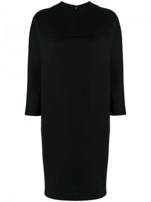 Платье-толстовка Gianluca Capannolo. Цвет: черный