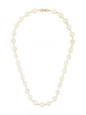 Ожерелье с искусственными жемчужинами Givenchy Pre-Owned. Цвет: белый