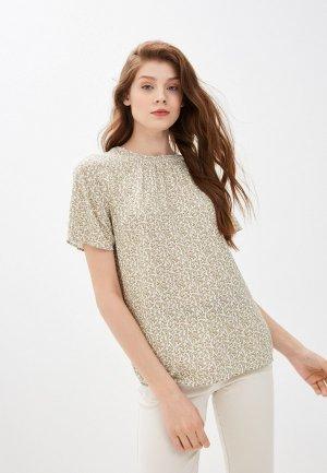 Блуза Marks & Spencer. Цвет: хаки